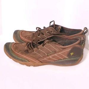 Merrell Mimosa Lace 10 Cocoa Nubuck Brown Leather